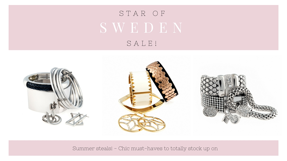 Star of Sweden fashion jewellery trendiga smycken