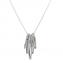 Halsband silver star of sweden design trend smycken med stenar
