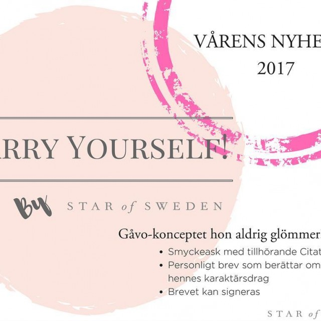 Carry Yourself by star of Sweden  smycken med innebrdhellip