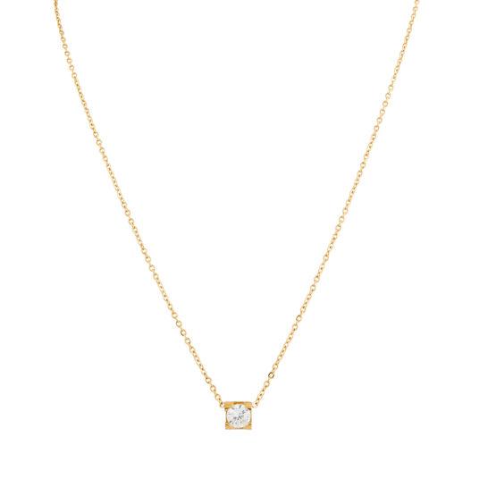 halsband-guld-star